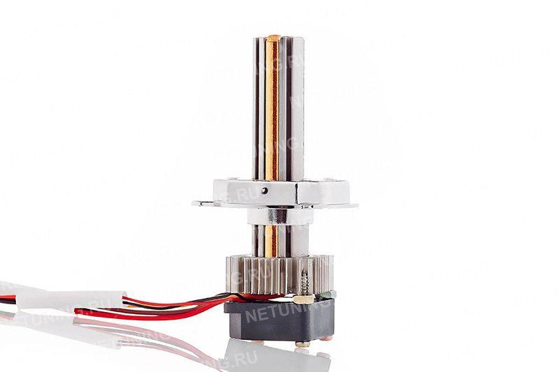 Теплопроводная трубка в конструкции лампы H4-18W