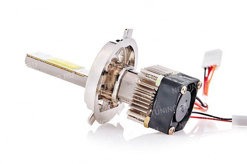 Светодиод установлен на печатной плате с высокой теплопроводностью