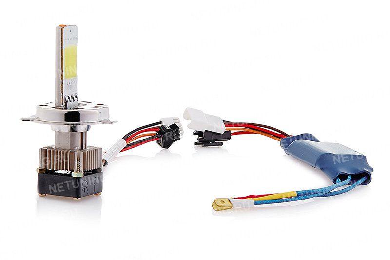 Светодиодные лампы Moonlight H4-18W меньше нагреваются и потребляют электроэнергии
