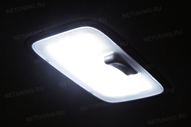 Лампы набора светят ярче штатных ламп