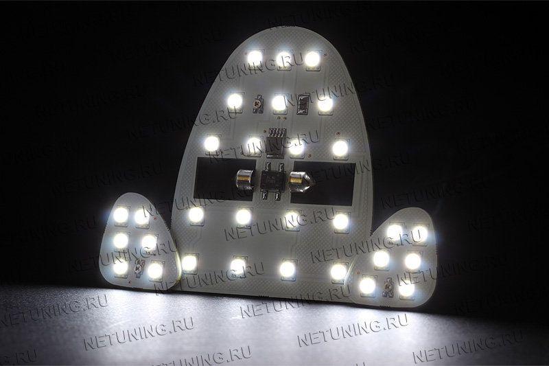 Лампы набора светят намного ярче штатных ламп