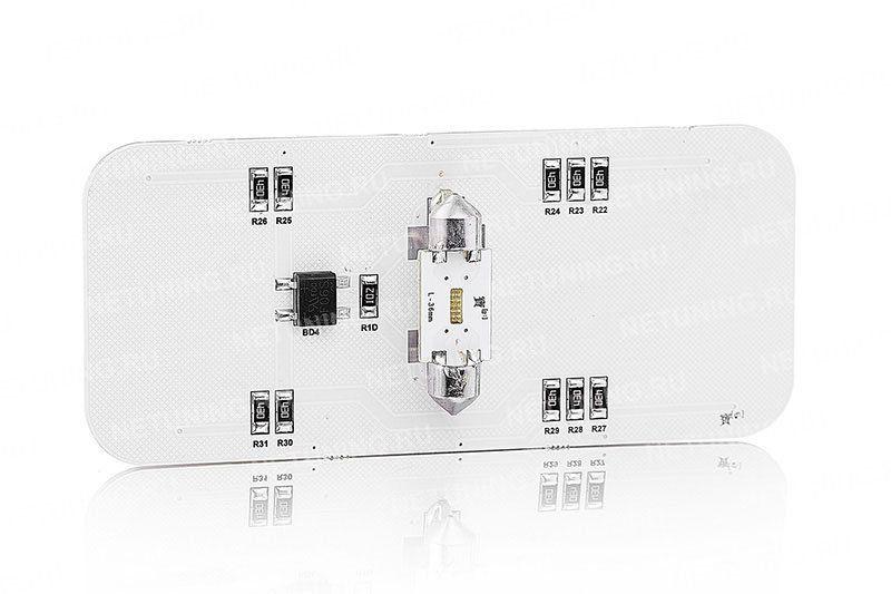 Все лампы набора оснащены стабилизатором тока
