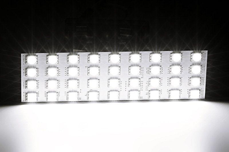 Включенная светодиодная панель F-36s50f31