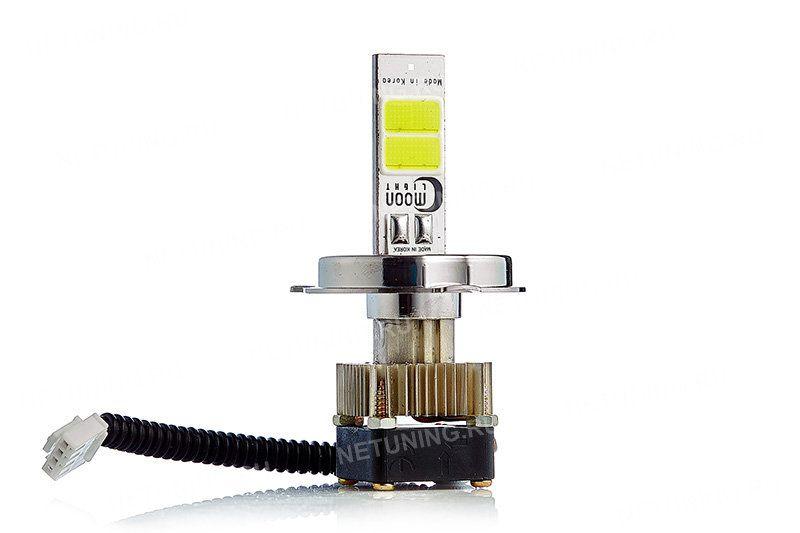 Светодиод Powerlightec на лампе H4-18W