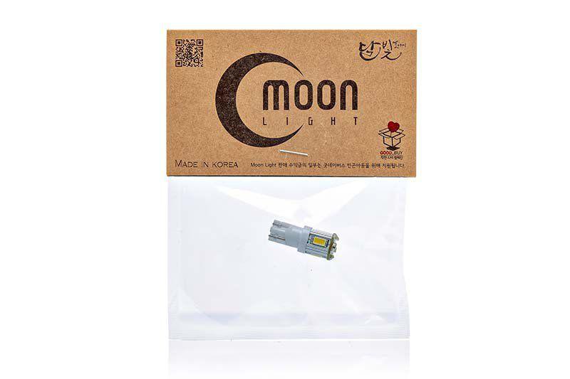 Светодиодная лампа MoonLight W5W-2W