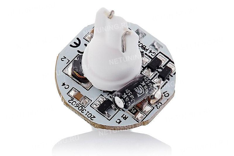 Компоненты стабилизатора тока светодиодной лампы W5W-6s50b