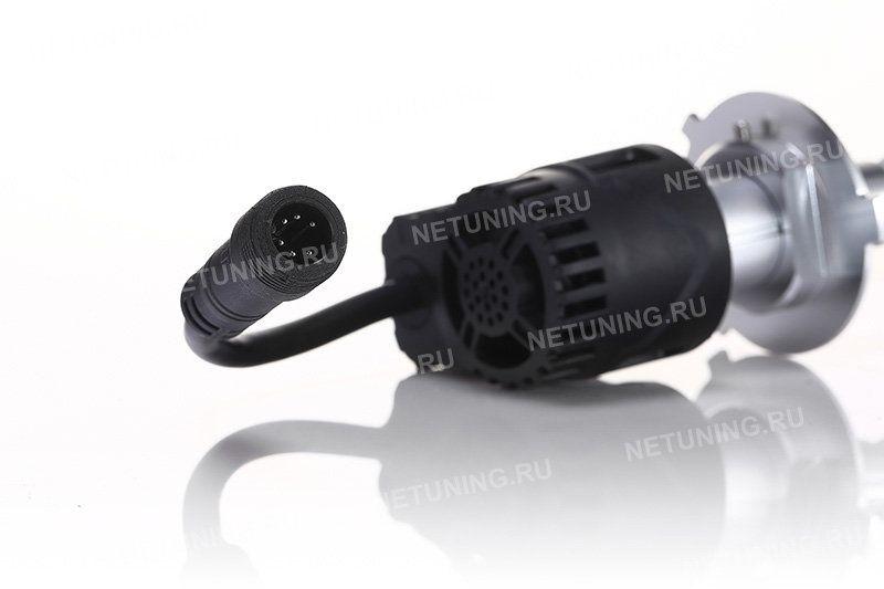 Светодиодные лампы H4-55W с вентилятором