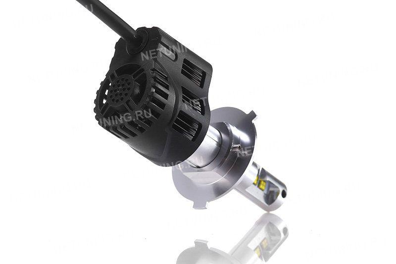 Охлаждение светодиодных ламп H4-55W