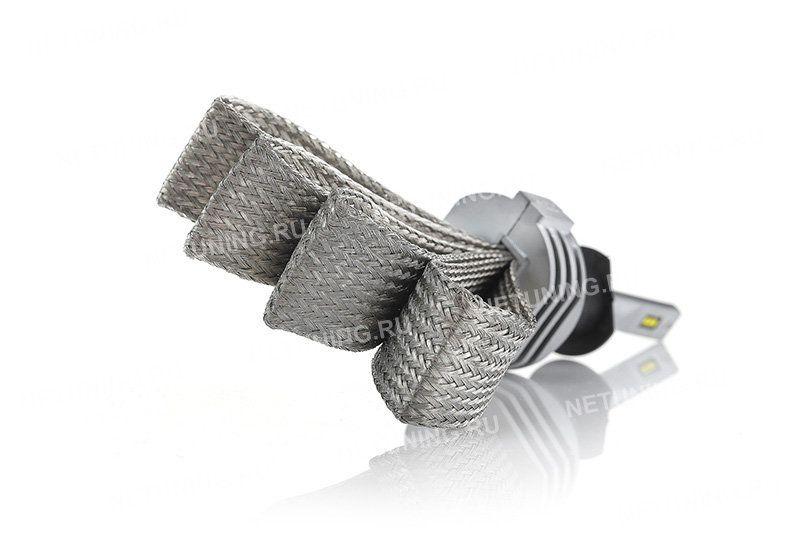 Светодиодные лампы H1-SMART не имеют вентилятора