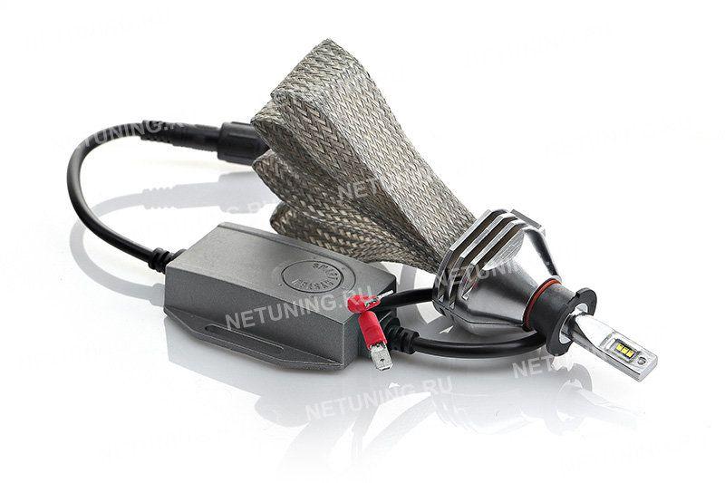 Светодиодные лампы H3-SMART не имеют вентилятора