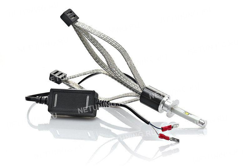 Со светодиодными лампами H3-R4C отражатель фары не помутнеет