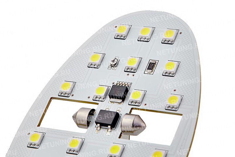 Лампы защищены от перепадов напряжения