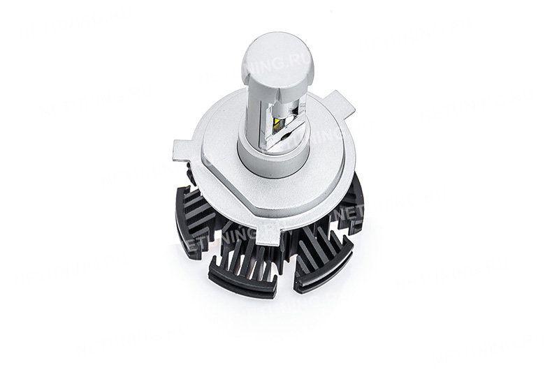 Светодиодные лампы H4-G7s значительно превосходят лампы накаливания по яркости