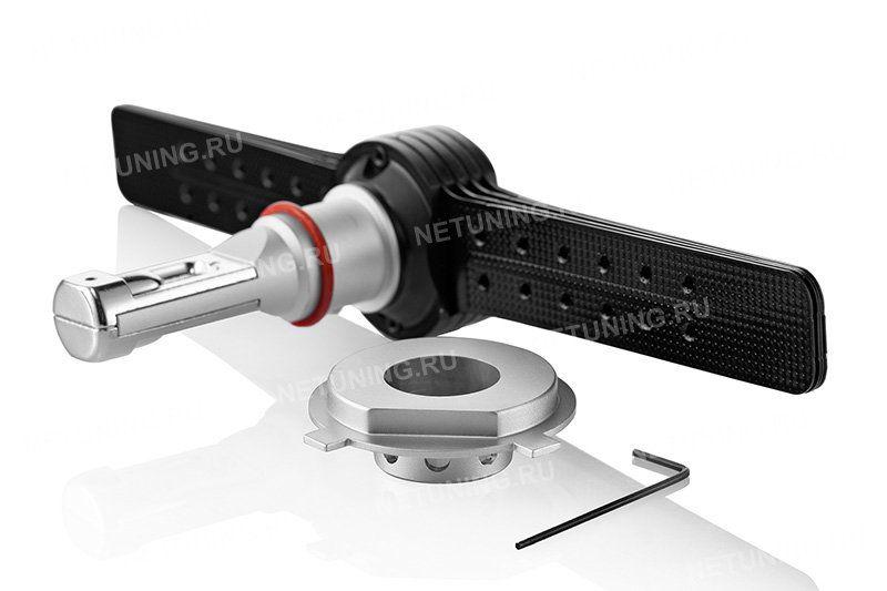 Снятый адаптер светодиодной лампы H4-XD