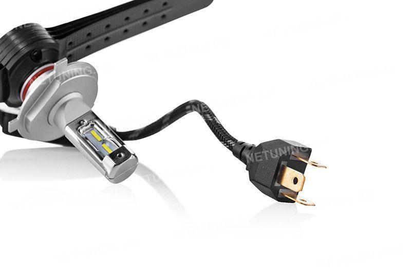 Светодиодные лампы H4-XD не нуждаются в дополнительной обманке