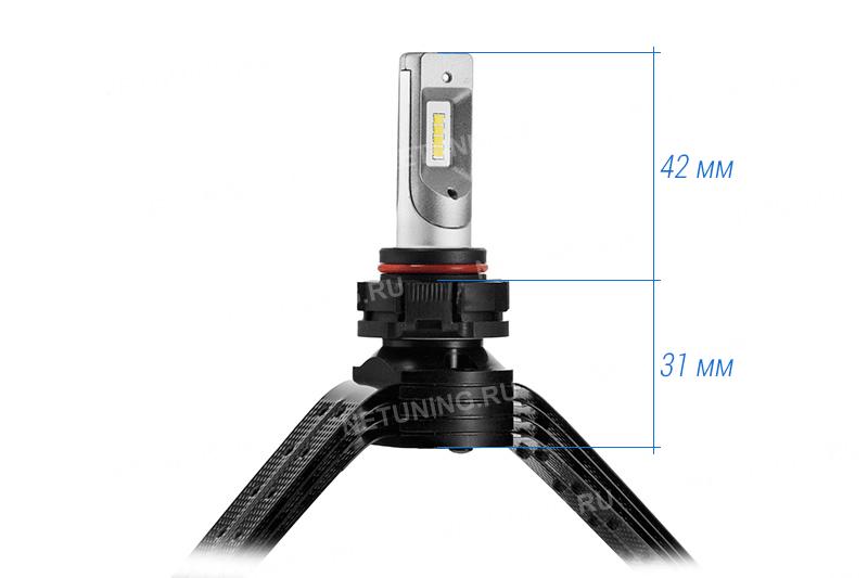 Светодиодные лампы PSX24W-8CSP являются одними из самых компактных