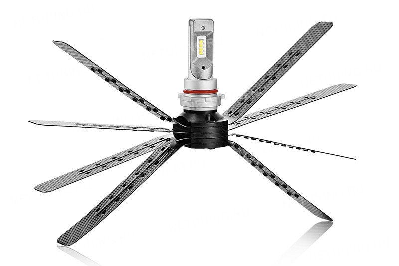 Светодиодная лампа PSX26W-8CSP с гибким радиатором