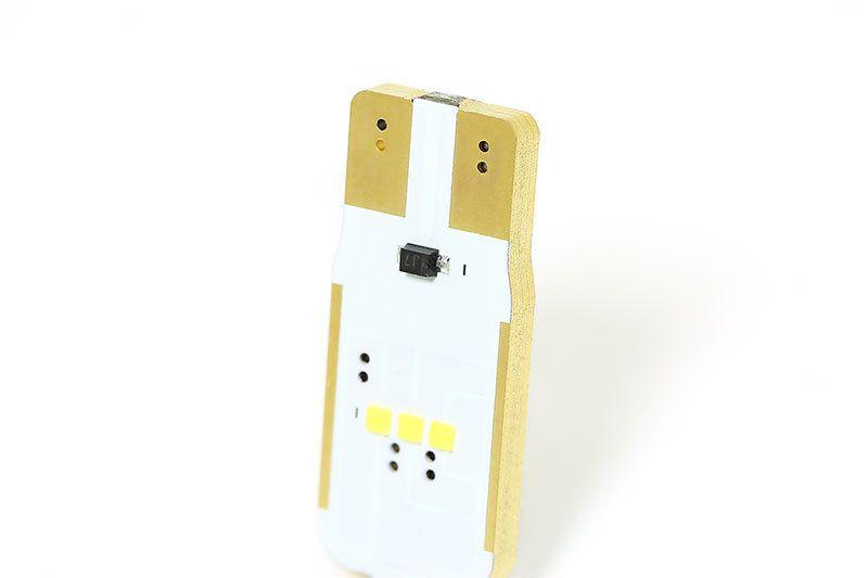 Светодиодная лампа SUNiCO W5W-6CSP внешний вид