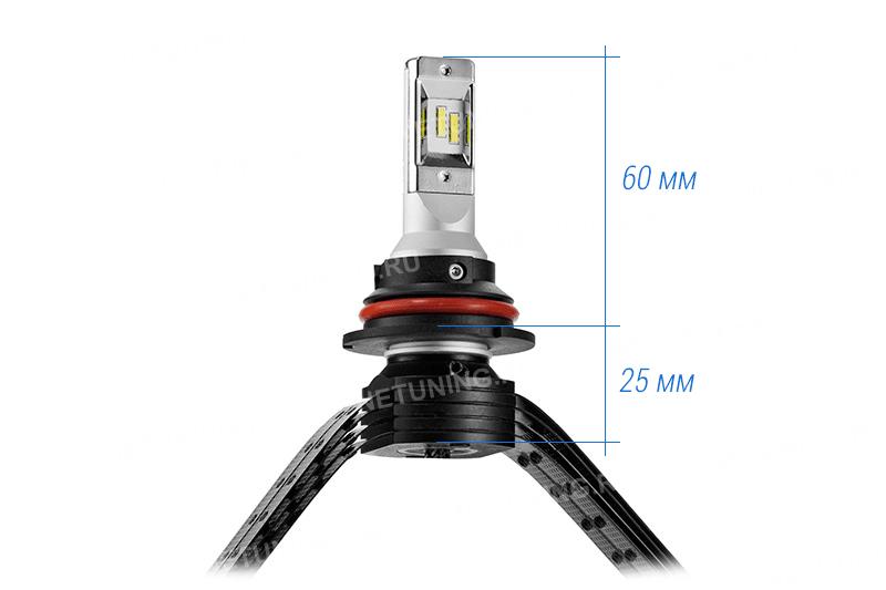 Размеры лампы HB1-XD