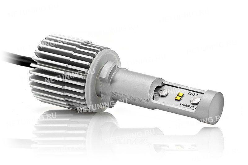 Световой поток обычно лампы Н27 намного меньше, чем у светодиодной