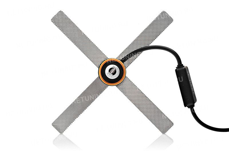 Вращая адаптер светодиодных ламп SMART2 можно регулировать СТГ