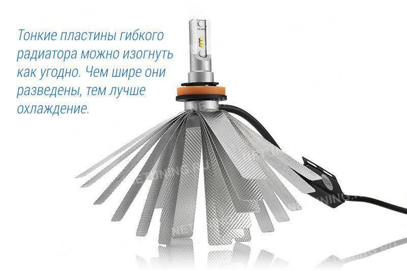 Гибкий радиатор лампы SMART2