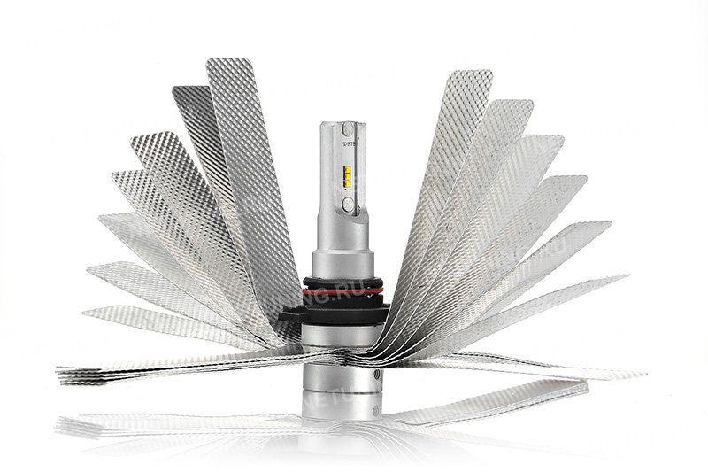 Гибкий радиатор светодиодной лампы HB4-SMART2
