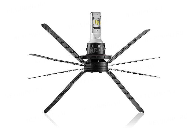 Светодиодная лампа H13-XD с гибким радиатором