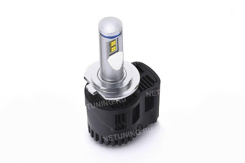 Расположение светодиодов на лампе H7-55W-P5 дает правильную СТГ