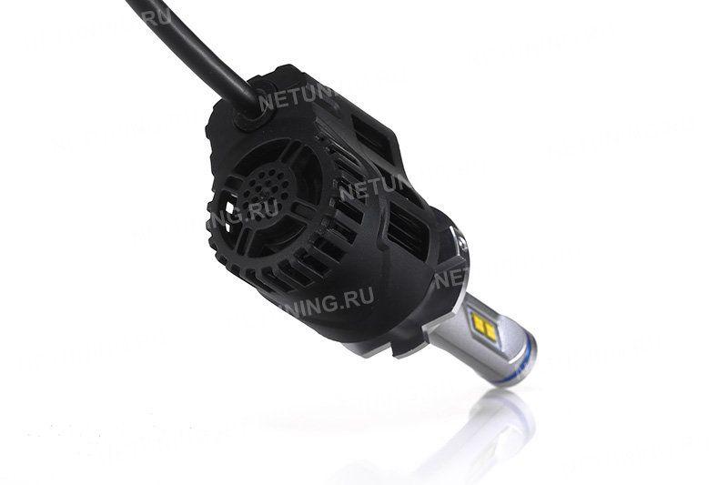 Активное охлаждение светодиодных ламп H7-55W-P5