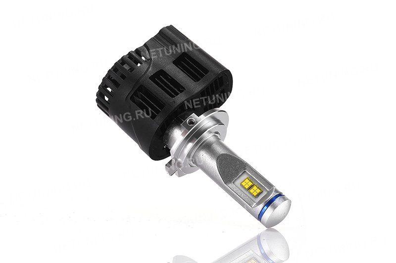 Светодиодные лампы H7-55W имеют комбинированную систему охлаждения