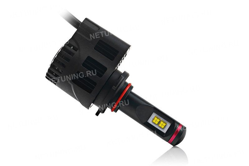 Система теплоотвода светодиодных ламп HB3-55W