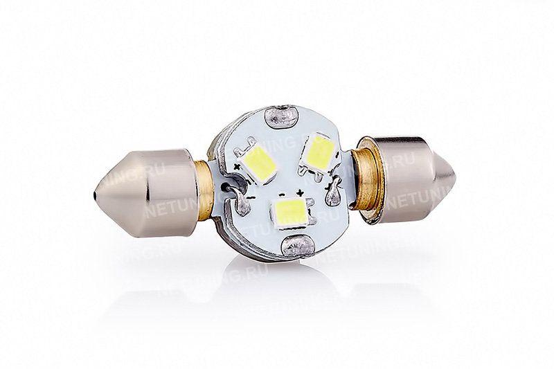 светодиодная лампа F-3s35f3136hp длиной до 37 мм