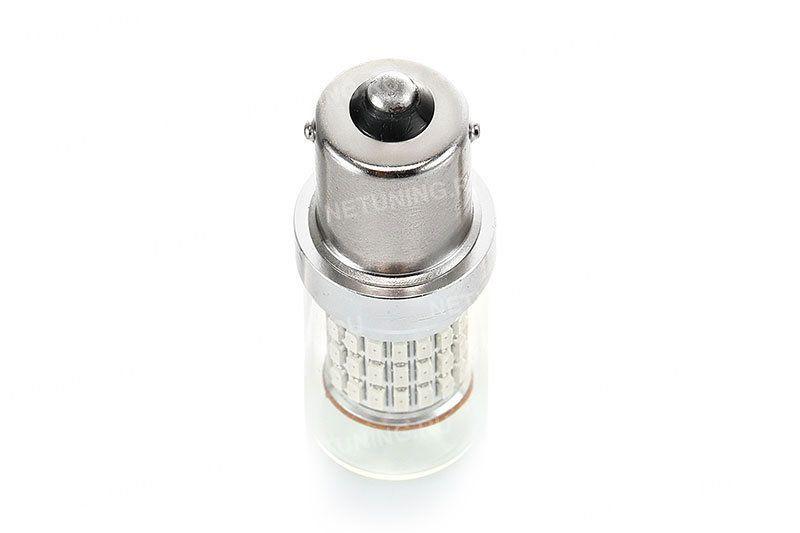 Светодиодная автомобильная лампа P21W-66s14