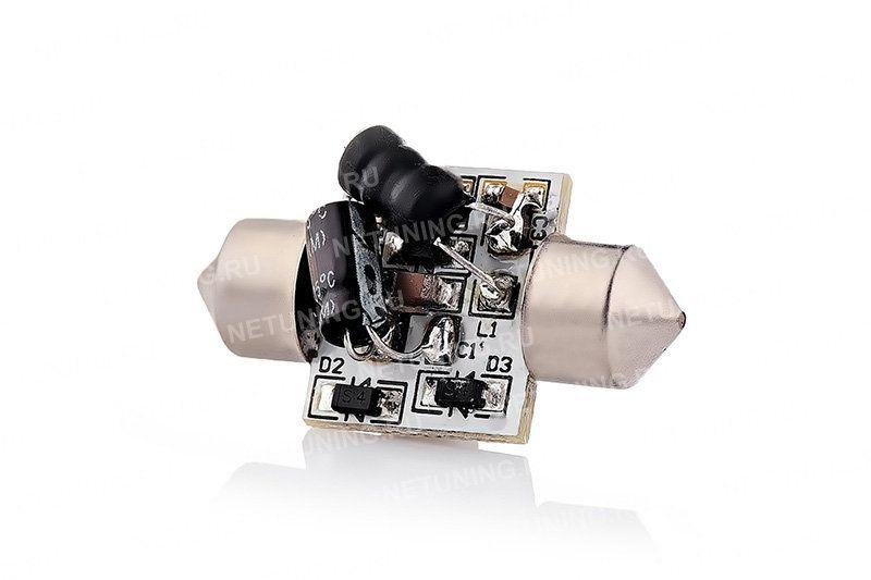 Светодиодная лампа F-4s50f31. Вид сзади.