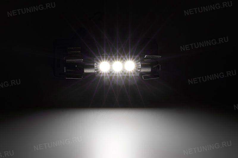 Включенная светодиодная лампа F-3s50f37