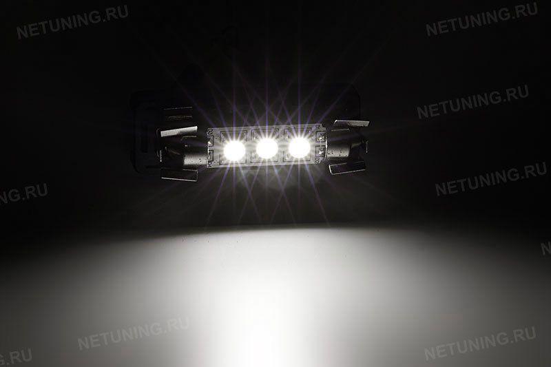 Свечение светодиодной лампы F-3s50f41
