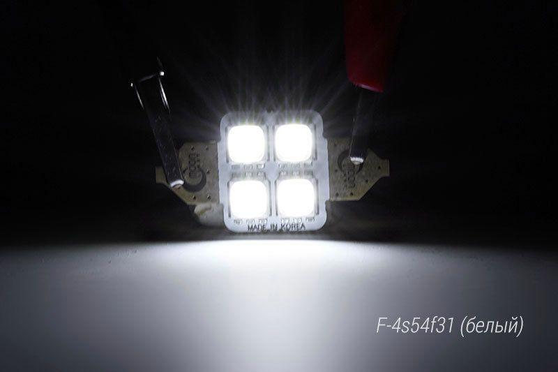 Включенная светодиодная лампа MoonLight F-4s54f31