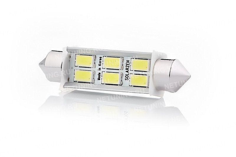 6 фирменных светодиодов лампы F-6s56f42