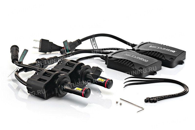 Светодиодные лампы H7-55W не нуждаются в дополнительной обманке