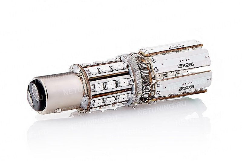 Светодиодная лампа P21/5W-86s35-Star со складывающимися лепестками