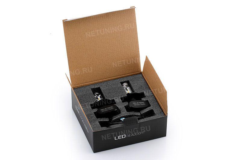 Упаковка лед ламп Н4