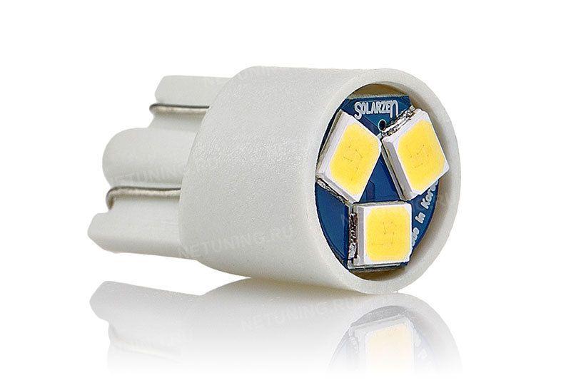 Светодиодная лампа Solarzen W5W-3s35