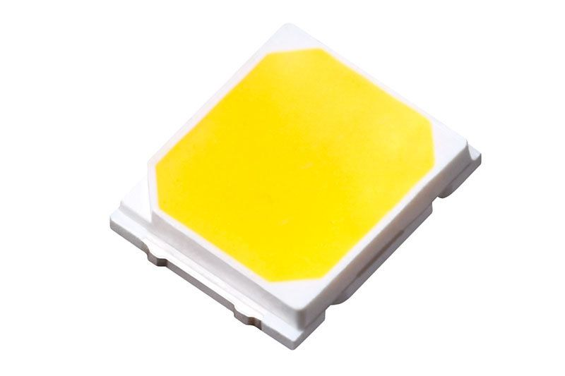 Свечение светодиодной лампы Solarzen W5W-2s56