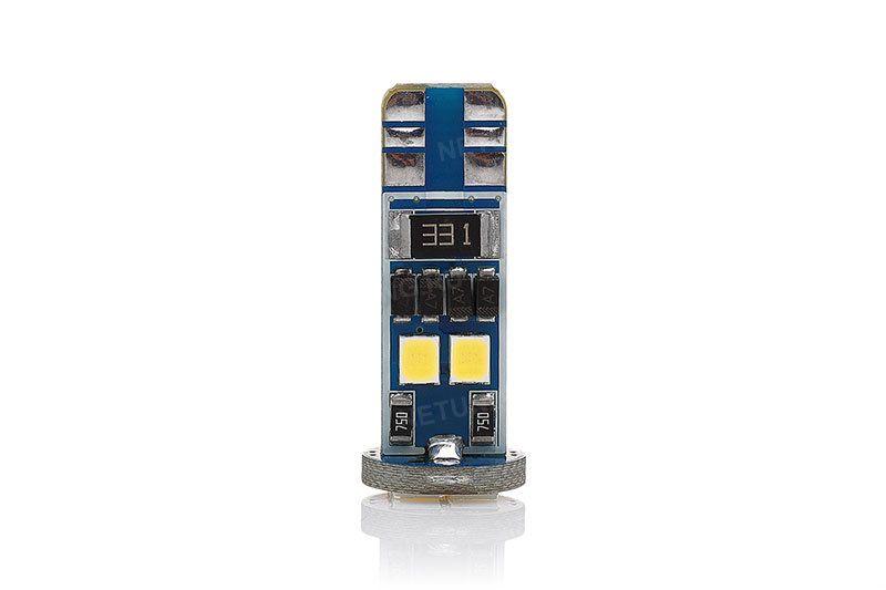 Лампочка W5W-8s35с с обманкой для габаритов