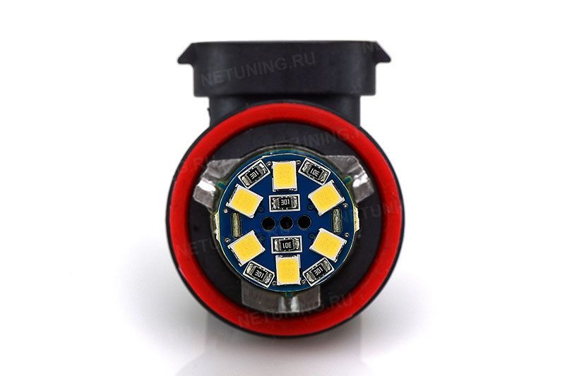 Лампочка Solarzen H11-38s35 вид спереди