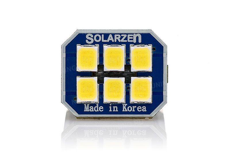 Передняя плата корейской светодиодной лампы w16w