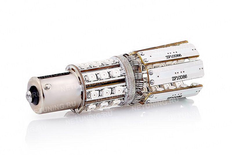 Светодиодная лампа PY21W-86s35-Star с сложенными лепестками