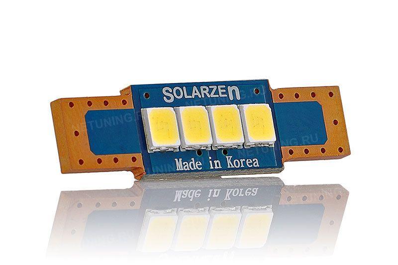 Светодиодная лампа Solarzen c5w 4s35f28