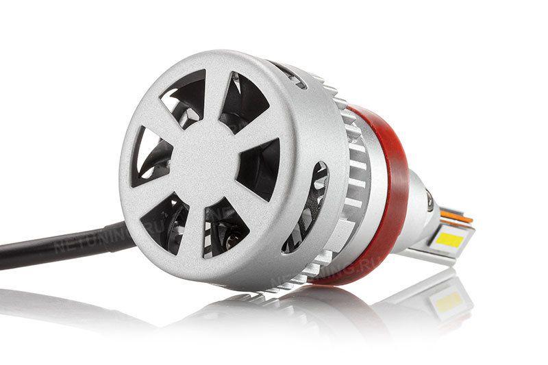 Свечение ламп H11-40W